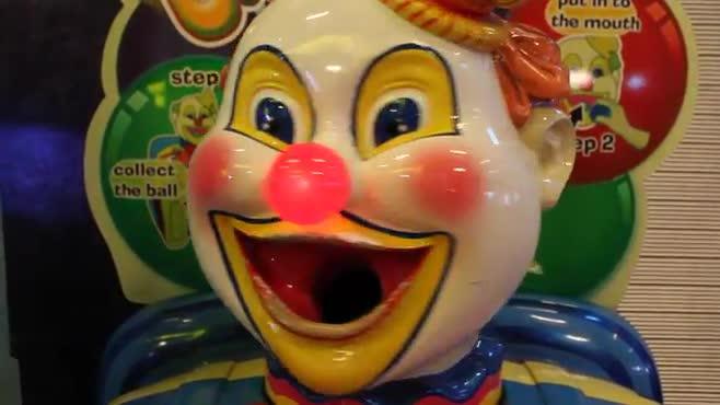 Rudolph the Clown