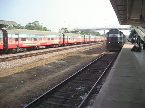 Trainstation - Udupi, India