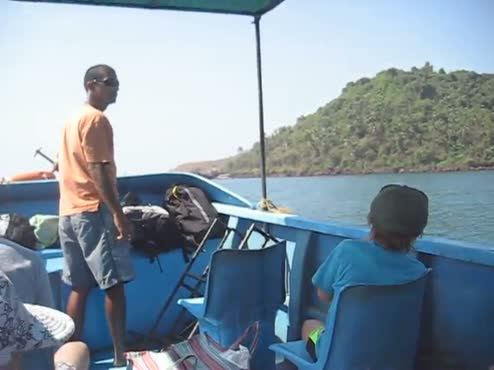 Pre-scuba Boat Ride - Goa, India