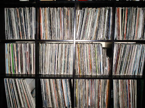 Record-shelf