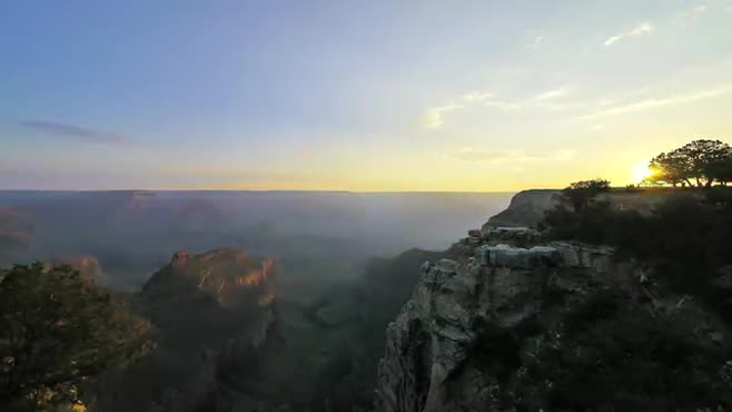 Sunrise at El Tovar (Grand Canyon)
