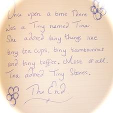 Tina's Tiny Story
