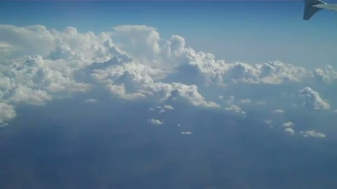 Clouds over the Mediterranean Sea 01