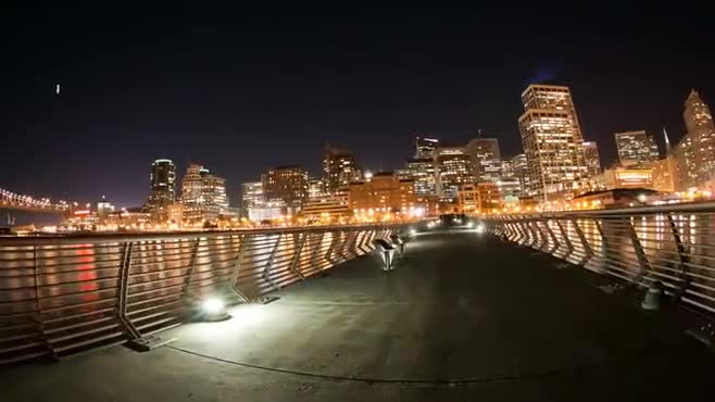Downtown Lights Timelapse