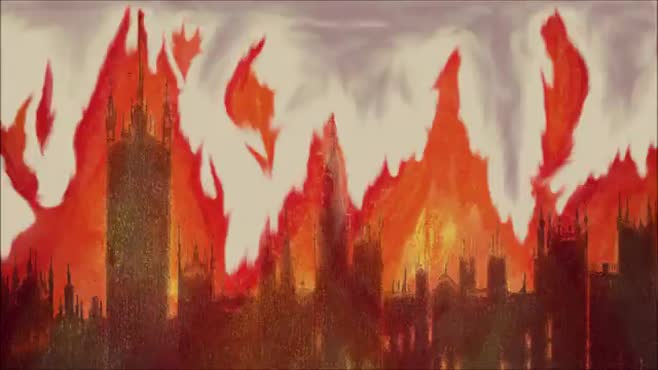 London in Flames (Animation)