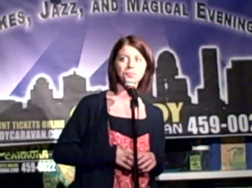 One Woman Show Performed as Stand-up Comedy