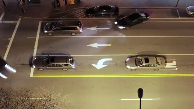 Downtown Traffic Timelapse