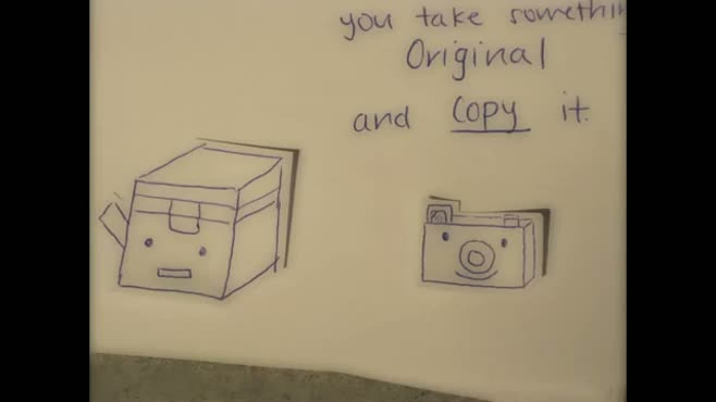 The Copy Machine and Camera