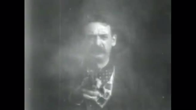 cowboy shoots at audience (1903) (pd)