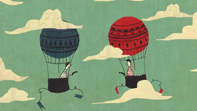 Hot Air Balloon Gun Duel