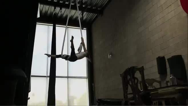 Aerial Hammock - Erin Brown -