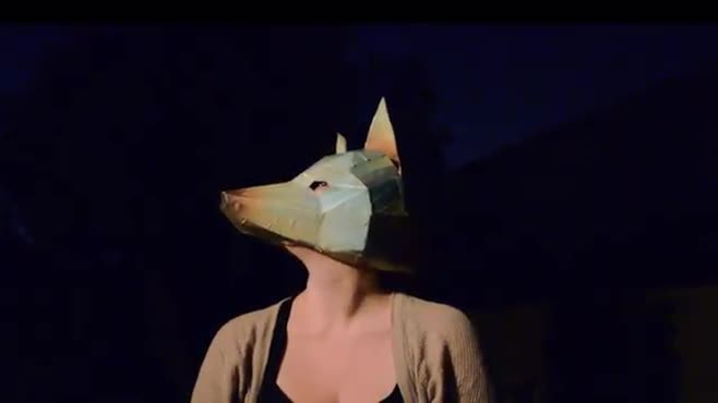 fox/wolf mask