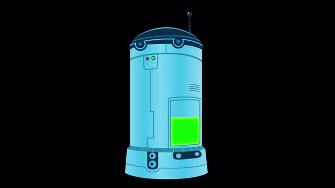 Animation: Cylinder Machine props