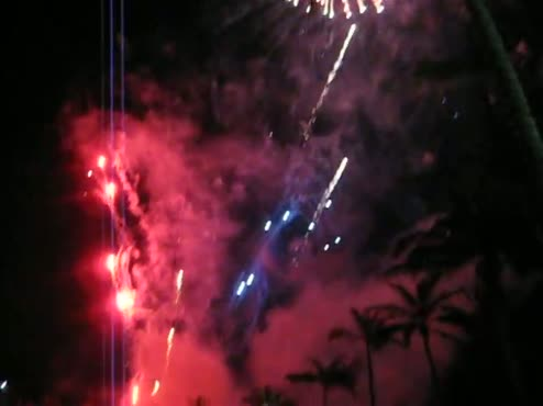 Lovesplosion of fireworks