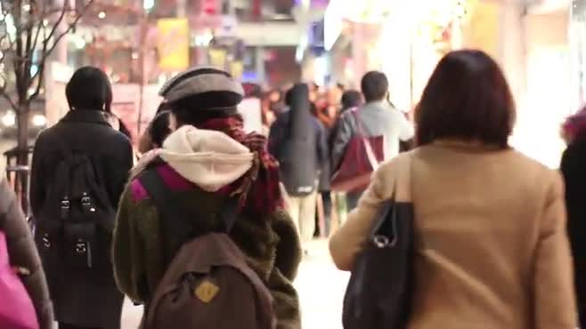 In Tokyo Streets // Stock Footage