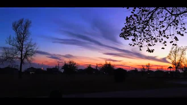 Beautiful Sunset Time-Lapse (Stock-footage)