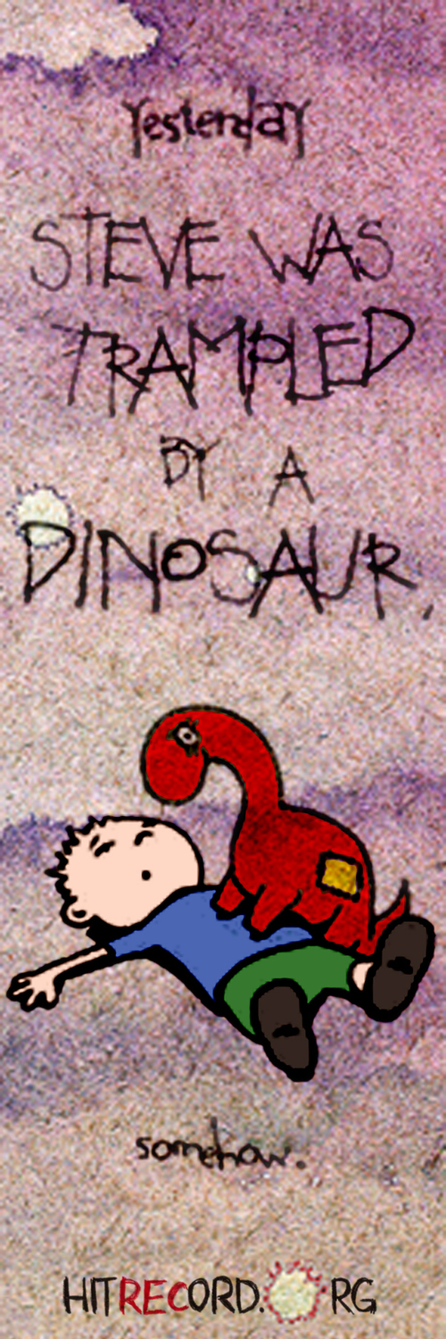 Steve_dinosaur-bookmark