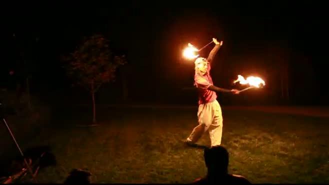 Burning Dan Flow Temple Garden Spin