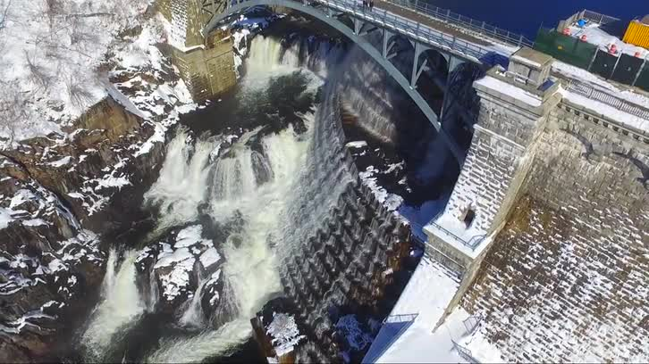 Drone: Flying at Croton Dam