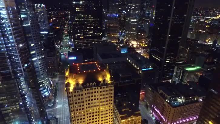 Downtown LA (Drone Shot)