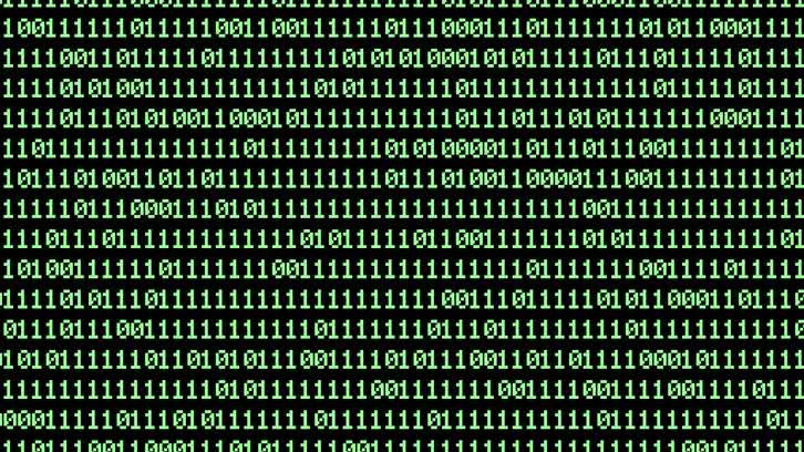 Computer Binary Code