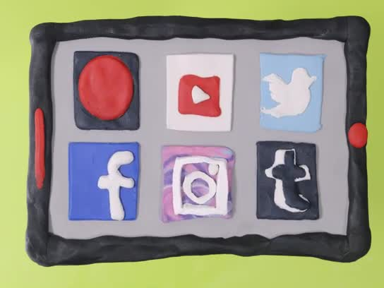Line4/Clay Social Media Icons/Snowden