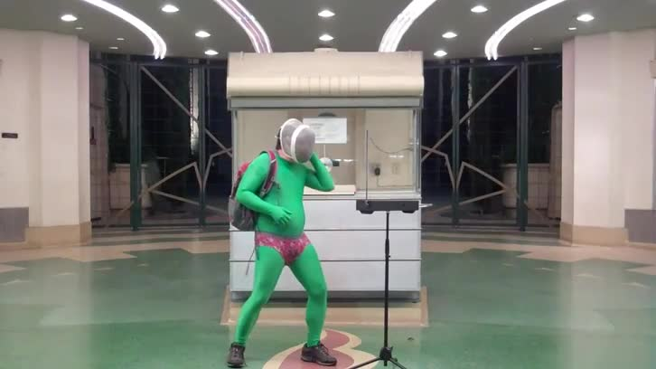 Everyday, Spectacular - Spaceman Theremin 1