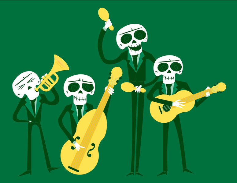 Skeleton-band