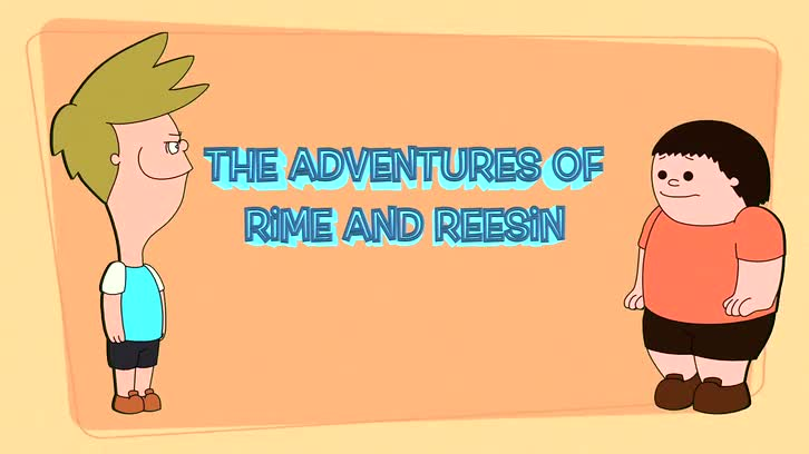 The Adventures of Rime and Reesin! - animated title card