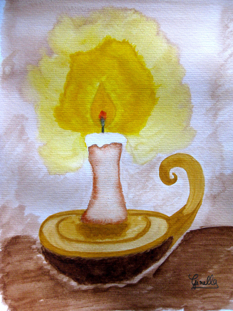 Candle_pour_pierre_watercolour_