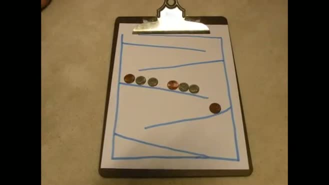 Coin Stop Motion Toy