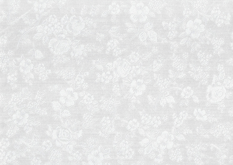 White_floral_wallpaper