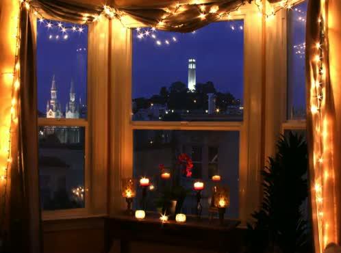 Time Lapse Romantic City View