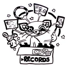 Circus_kitten_going_through_records