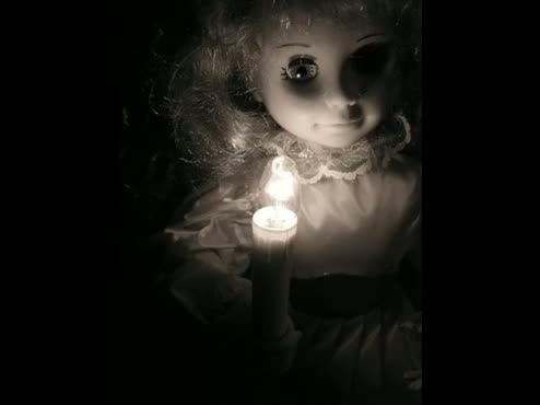 Creepy doll (with music)