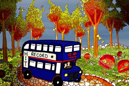 Hitrecord_bus_in_wonderland