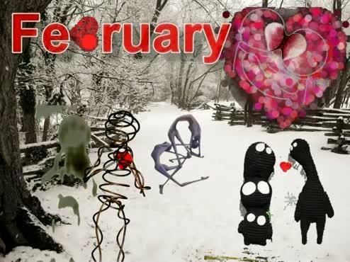 Calendar 2012 'February'