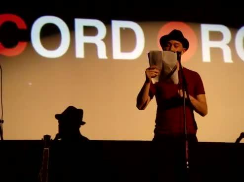 regularJOE reading The Man in the Herringbone Hat