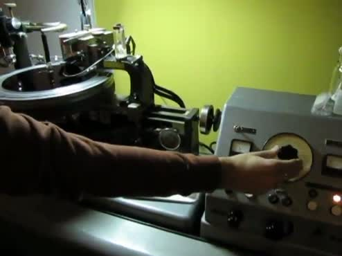 hitRECord Vinyl RElease 1 Cutting Session