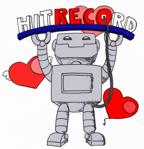 Bob-the-bot-greets-hitrecord-happy-hearts