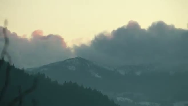 Mountain Clouds Timelapse
