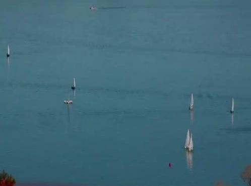 Time Lapse Sailboat Regatta 2