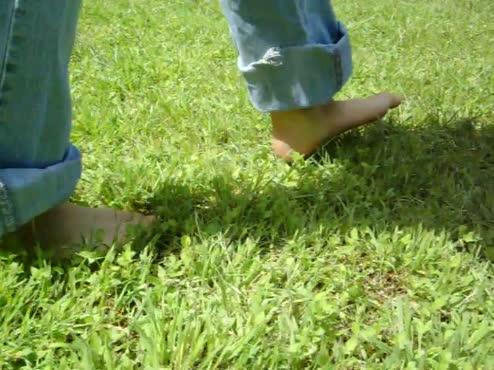 Barefoot walking!