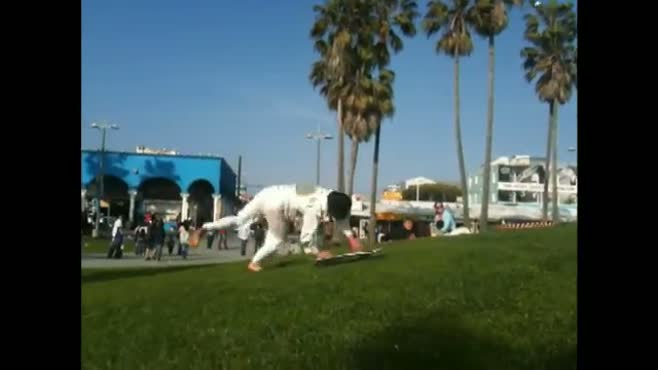 Skateboard Cartwheel
