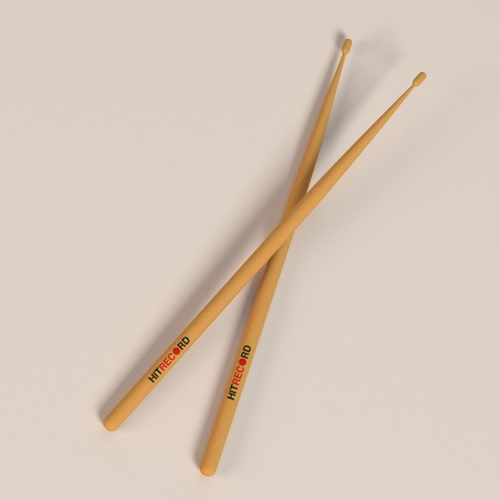 Hitrecord-drumsticks