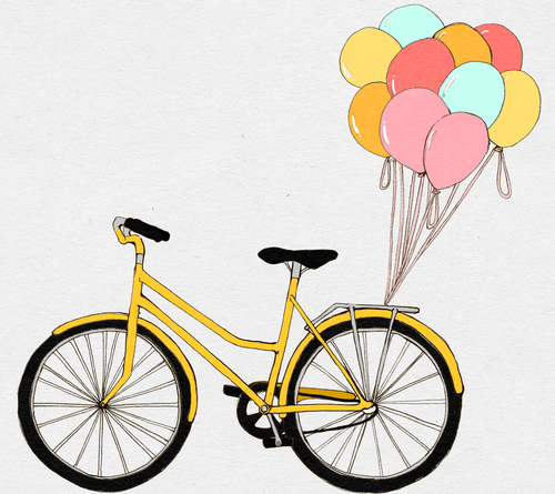 Bicycleandballoon