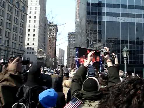 Inauguration Cheer